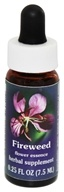 Flower Essence Services - Range of Light Dropper Fireweed - 0.25 oz.