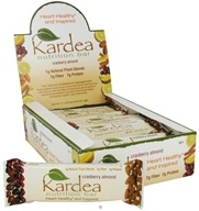 Kardea Nutrition - Natural Nutrition Bar Cranberry Almond - 1.4 oz.