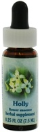 Image of Flower Essence Services - Healing Herbs Dropper Holly - 0.25 oz.