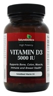 Futurebiotics - High Potency Vitamin D3 5000 IU - 90 Softgels by Futurebiotics