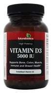 Image of Futurebiotics - High Potency Vitamin D3 5000 IU - 90 Softgels