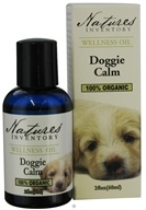 Nature's Inventory - Wellness Oil 100% Organic Doggie Calm - 2 oz. CLEARANCE PRICED