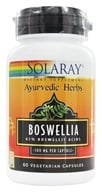 Solaray - Ayurvedic Herbs Boswellia 300 mg. - 60 Capsules by Solaray