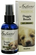 Nature's Inventory - Wellness Oil 100% Organic Doggie Breath - 2 oz. CLEARANCE PRICED, from category: Aromatherapy