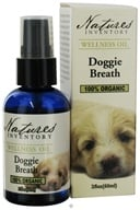 Nature's Inventory - Wellness Oil 100% Organic Doggie Breath - 2 oz. CLEARANCE PRICED (850715001065)