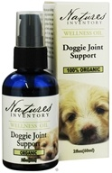 Nature's Inventory - Wellness Oil 100% Organic Doggie Joint Support - 2 oz. CLEARANCE PRICED