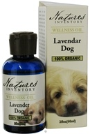 Nature's Inventory - Wellness Oil 100% Organic Lavender Dog - 2 oz. CLEARANCE PRICED