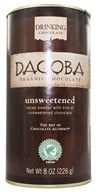 Dagoba Organic Chocolate - Hot Drinking Chocolate Unsweetened - 8 oz. (810474006046)
