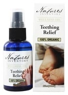 Nature's Inventory - Wellness Oil 100% Organic Teething Relief - 2 oz., from category: Aromatherapy