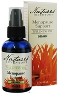 Image of Nature's Inventory - Wellness Oil Organic Menopause Support - 2 oz. CLEARANCED PRICED