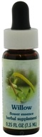 Image of Flower Essence Services - Healing Herbs Dropper Willow - 0.25 oz. CLEARANCE PRICED