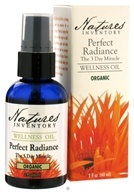 Nature's Inventory - Wellness Oil Organic Perfect Radiance The 3 Day Miracle - 2 oz.