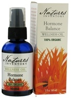 Nature's Inventory - Wellness Oil 100% Organic Hormone Balance - 2 oz., from category: Aromatherapy