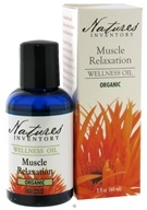 Nature's Inventory - Wellness Oil Organic Muscle Relaxation - 2 oz.
