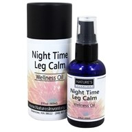 Nature's Inventory - Wellness Oil Organic Night Time Leg Calm - 2 oz., from category: Aromatherapy