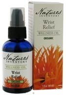 Nature's Inventory - Wellness Oil Organic Wrist Relief - 2 oz. CLEARANCE PRICED
