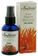 Nature's Inventory - Wellness Oil 100% Organic Joint Support - 2 oz. CLEARANCE PRICED