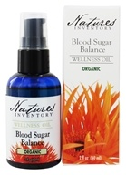 Nature's Inventory - Wellness Oil Organic Blood Sugar Balance - 2 oz., from category: Aromatherapy