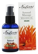 Nature's Inventory - Wellness Oil Organic Sensual Massage - 2 oz. - $13.56