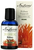 Nature's Inventory - Wellness Oil Organic Kidney Support - 2 oz., from category: Aromatherapy