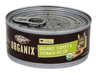 Castor & Pollux - Organix Cat Food Organic Turkey & Spinach Formula - 5.5 oz. by Castor & Pollux
