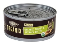 Castor & Pollux - Organix Cat Food Organic Turkey & Spinach Formula - 5.5 oz. - $1.99