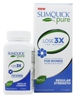 SlimQuick - Ultra Fat Burner Designed For Women - 72 Caplets (811568003408)