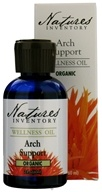 Nature's Inventory - Wellness Oil Organic Arch Support - 2 oz., from category: Aromatherapy