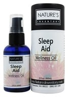 Image of Nature's Inventory - Wellness Oil Organic Sleep Aid - 2 oz.
