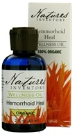 Nature's Inventory - Wellness Oil 100% Organic Hemorrhoid Heal - 2 oz. - $13.56