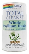 Solaray - Total Cleanse Whole Psyllium Husks - 12.3 oz.