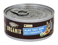 Image of Castor & Pollux - Organix Cat Food Org. Turkey, Brn. Rice & Chicken Formula - 5.5 oz.