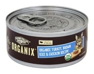 Castor & Pollux - Organix Cat Food Org. Turkey, Brn. Rice & Chicken Formula - 5.5 oz.