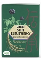Sun Chlorella - Wild Sun Eleuthero 200 mg. - 300 Tablets by Sun Chlorella
