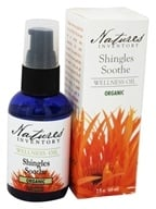 Nature's Inventory - Wellness Oil Organic Shingles Soothe - 2 oz., from category: Aromatherapy