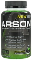 Muscle Asylum Project - Arson High-Performance Weight-Loss Complex - 120 Capsules