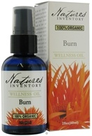 Nature's Inventory - Wellness Oil 100% Organic Burn - 2 oz. CLEARANCE PRICED, from category: Aromatherapy