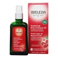 Image of Weleda - Pomegranate Regenerating Body Oil - 3.4 oz.
