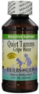 Herbs for Kids - Quiet Tummy Gripe Water - 4 oz.