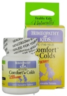 Herbs for Kids - Comfort for Colds Yummy Elderberry - 125 Chewable Tablets