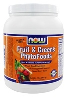 Image of NOW Foods - Fruit & Greens PhytoFoods Superfood Blend Great Berry Blend - 2 lbs.