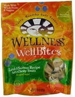 Wellness Pet - Wellbites Dog Treats Lamb & Salmon Soft & Chewy Recipe - 8 oz.