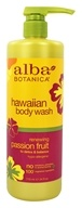 Alba Botanica - Body Wash Passion Fruit - 24 oz.