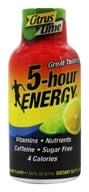 5 Hour Energy - Energy Shot Lemon-Lime Flavor - 2 oz.