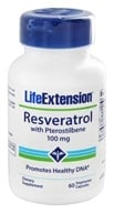 Life Extension - Resveratrol with Pterostilbene 100 mg. - 60 Vegetarian Capsules