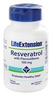 Life Extension - Resveratrol with Pterostilbene 100 mg. - 60 Vegetarian Capsules by Life Extension