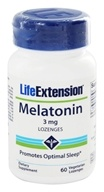Life Extension - Melatonin 3 mg. - 60 Lozenges
