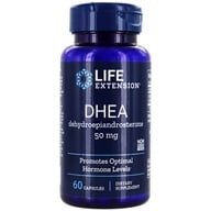 Image of Life Extension - DHEA Dehydroepiandrosterone 50 mg. - 60 Capsules