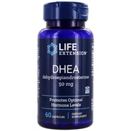 Life Extension - DHEA Dehydroepiandrosterone 50 mg. - 60 Capsules, from category: Nutritional Supplements