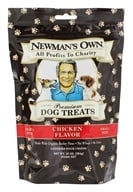 Newman's Own Organics - Dog Treats Small Size Chicken Flavor - 10 oz. (757645613057)